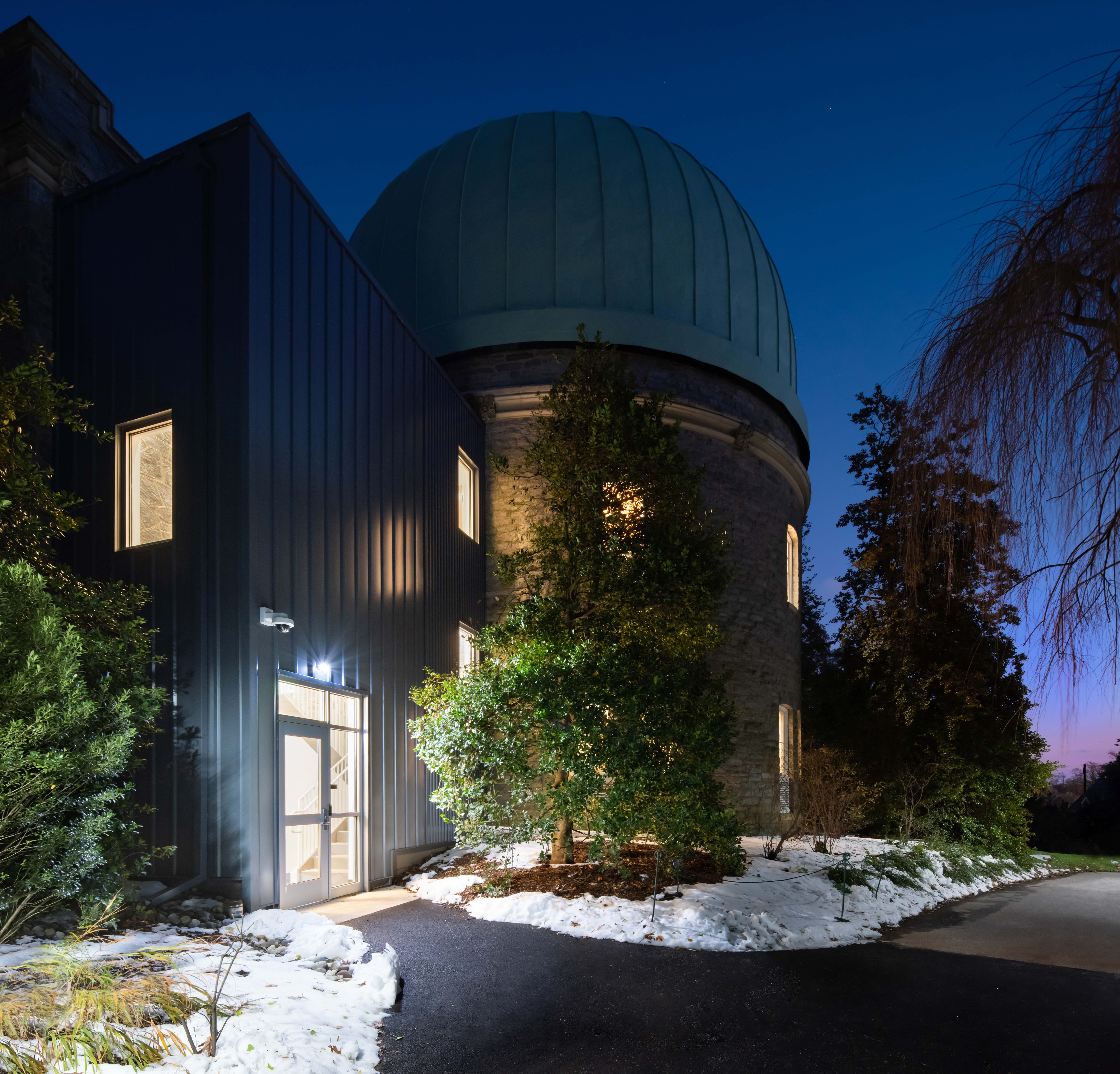 Sproul Observatory at Swarthmore College