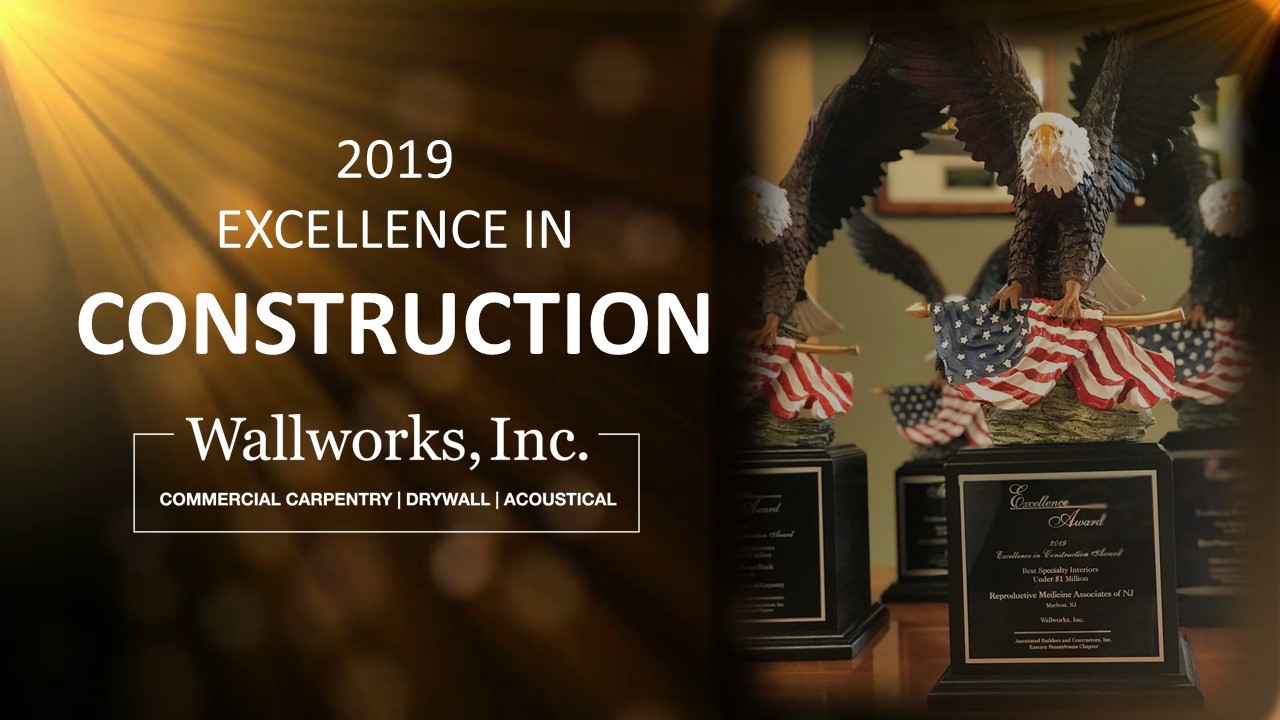 Congratulations to the Wallworks Team for 2 Excellence in Construction Awards.